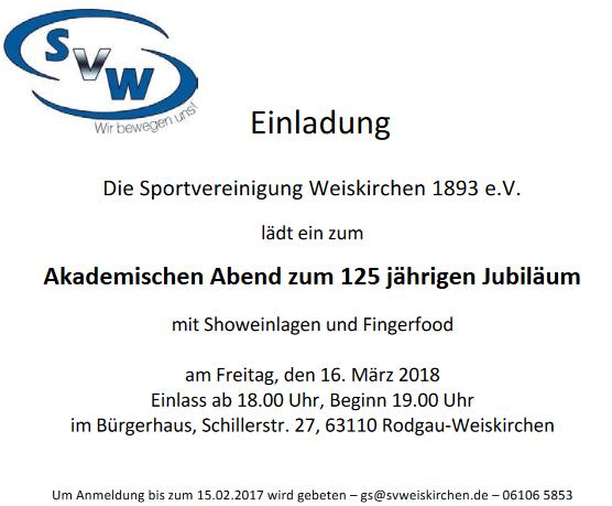 Sportvereinigung Weiskirchen 1893 e.V.
